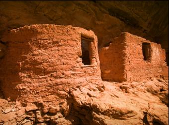 Anasazi art Zion