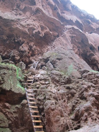 havasu-falls ladder