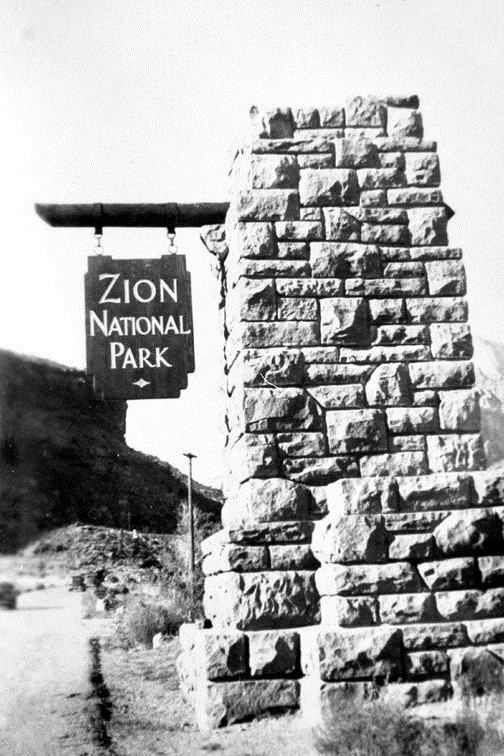 zion historical photo 1930