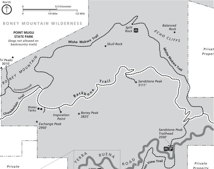 sandstone map