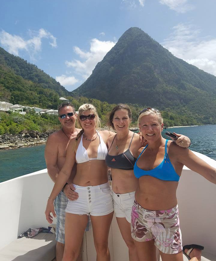 St. Lucia Boat