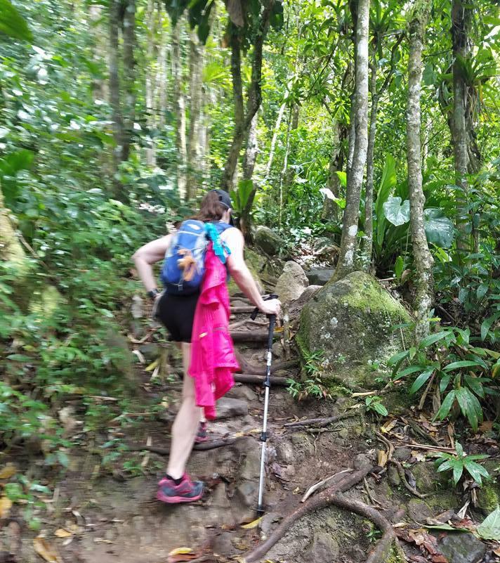 St. Lucia me hike