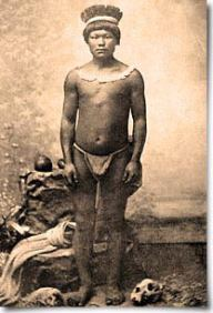 Native Carib from St. Lucia. Date and origin of photo unknown. Google Images.