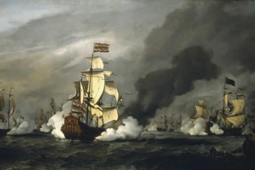 Francois (Peg-Leg) le Clerc attacking Spanish Galleons. Google Image