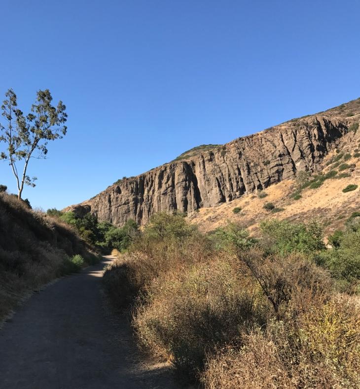 Hill Canyon canyon walls
