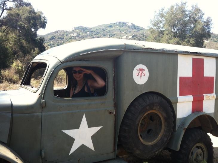 Malibu creek truck