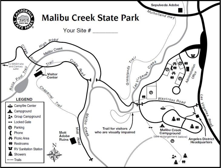 MalibuCreek Map