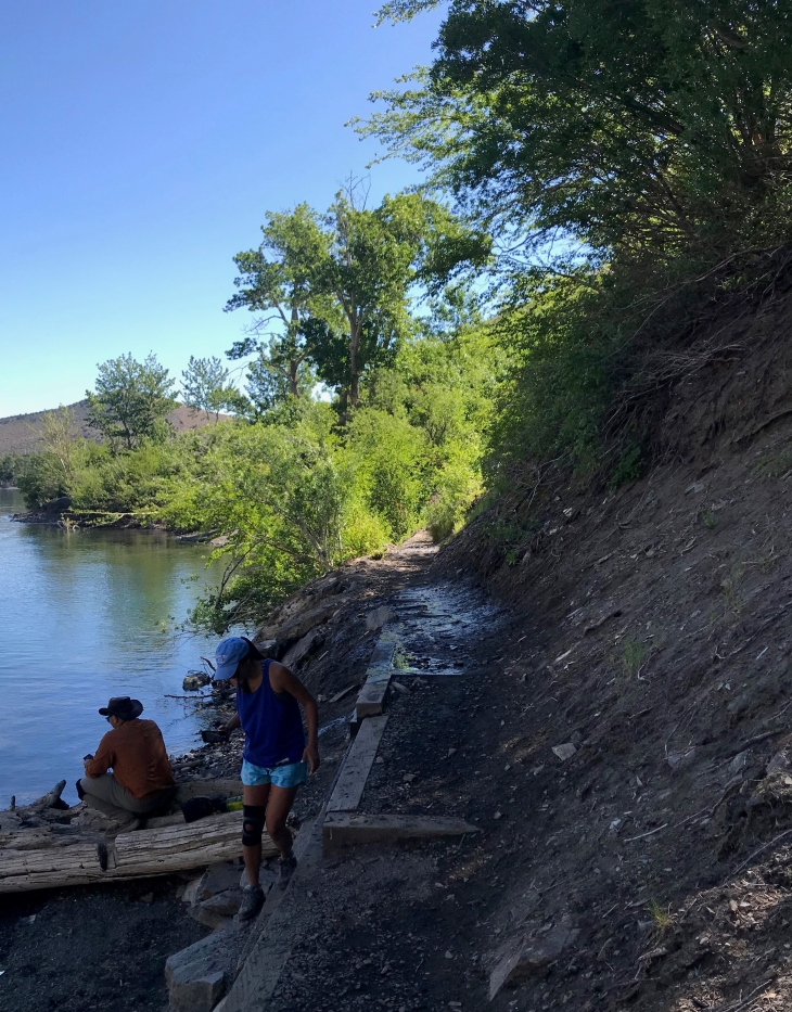 Convict lake dip